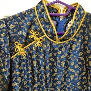 Dresses & Skirts - Yellow and blue dress